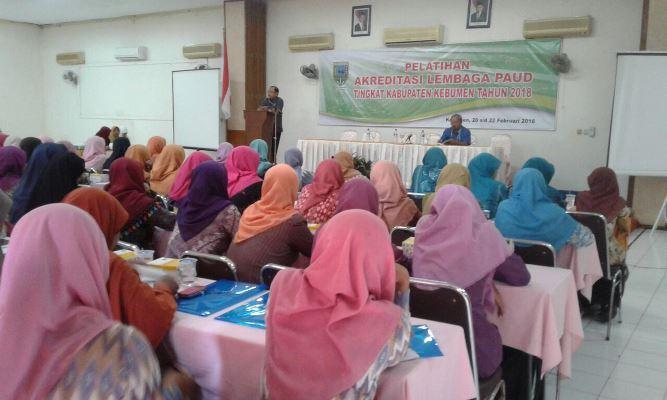 150 Tenaga Pendidik Ikut Pelatihan Akreditasi Lembaga PAUD