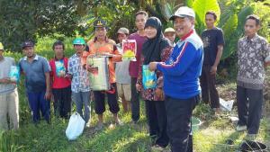 Untuk mengamankan produksi  Padi di Kabupaten kebumen, Distapang  intensifkan Gerakan Pengendalian Hama