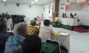 Bupati Yahya Fuad Saksikan Pelantikan Panwaslu Kecamatan se-Kabupaten Kebumen