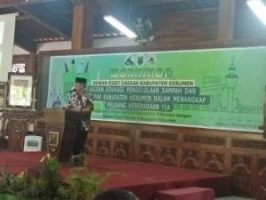 Workshop  Kajian Edukasi Pengelolaan Sampah dan Kesiapan Kabupaten Kebumen Dalam Menangkap Peluang Keberadaan YIA